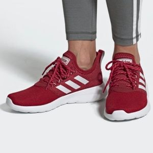 NEW adidas Lite Racer RBN Shoes Women's maroon 9